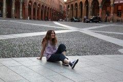 Me at S. Steffano square