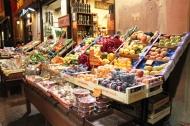 Fruits and veggies stall
