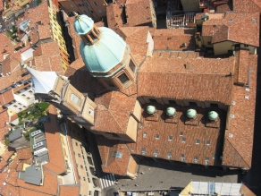 View over S. Maria della Vita Church