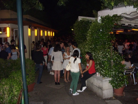 Open air party