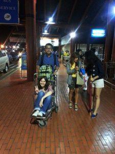 Departure from Jakarta International Airport