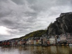 Houses on the Meuse river bank