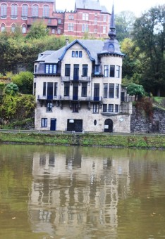 Beautiful houses of Dinant