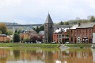 Reflection. Dinant. Belgium