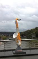 Saxophone in Dinant, Belgium