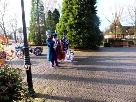 Singers and shows at Efteling