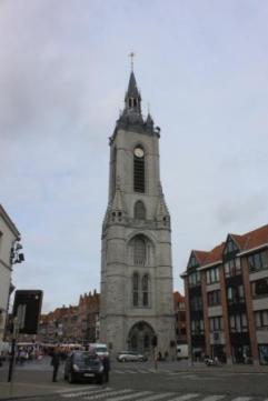 The Belfry,Tournai, Belgium