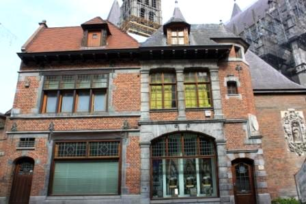 A charming old house in Tournai