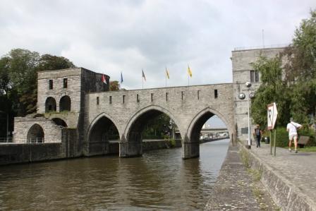 Pont des Tours. Tournai, Belgium