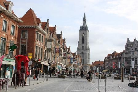 The main square and the Belfry