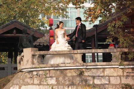 Western wedding in Nanjing