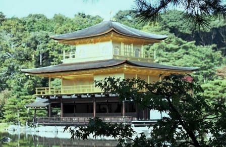 Kinkakuji (金閣寺) or the Golden Temple