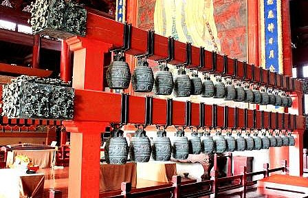 Bells at a Buddhist Temple