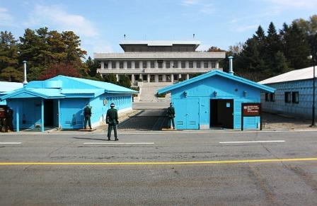 Joint Security Area in Panmunjeon