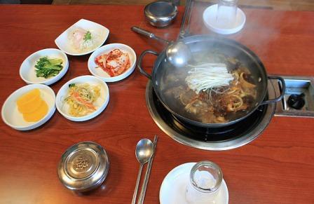 Lunch in DMZ