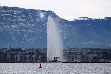 Jet d'eau on Geneva Lake
