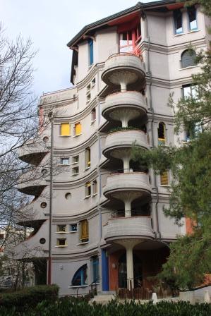 Schtrumpfs Building in Geneva