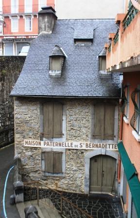 The house of St. Bernadette's family