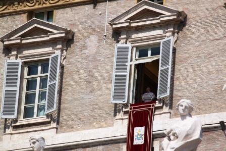 Pope Francis Sunday Prayer - Vatican