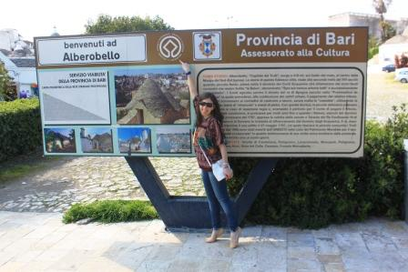 Me in Alberobello