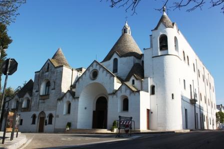 The Trullo church in Alberobello