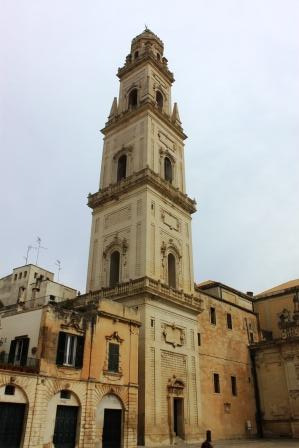 The cathedral of Lecce