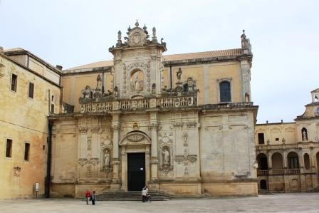 Duomo square in Lecce