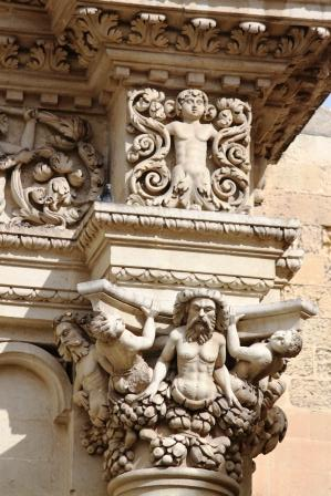 Some very nice baroque decorations in Lecce