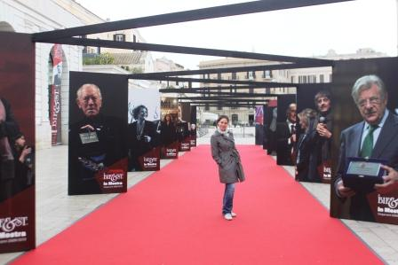 Me on the red carpet :)
