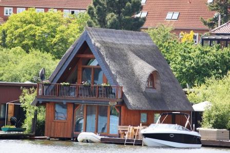 A house in the fishermen village, Schwerin