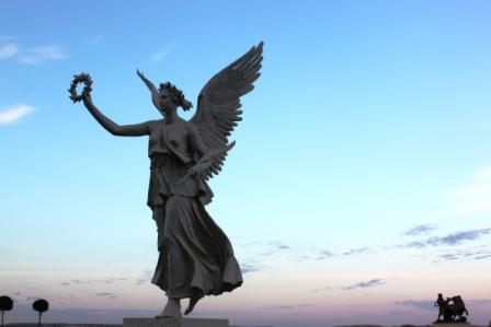 A beautiful angel @Schwerin Castle
