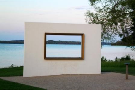 The frame @Schwerin Castle