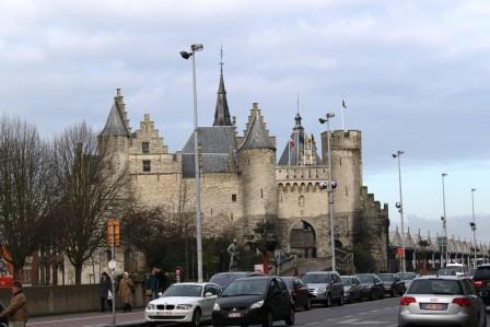 Steen - medival fortress in Antwerp