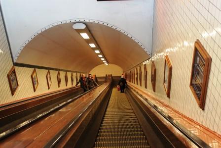 Saint-Anne Tunnel in Antwerp