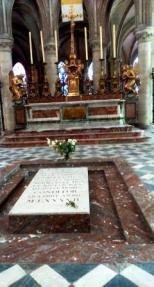 The tomb of the William the Conqueror