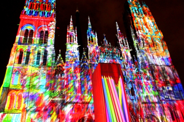 Light Show in Rouen