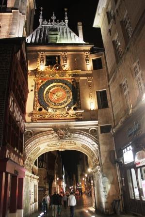 16th century Gros Horloge - astronomical clock