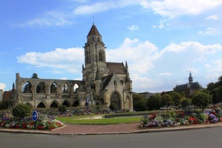 Saint Etienne le Vieux Church in Caen
