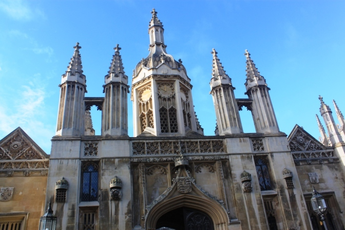 King's college in Cambridge, UK