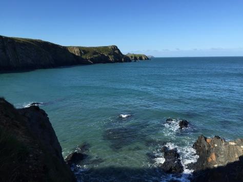The beautiful coastline