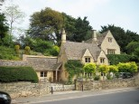 Old villas in Bibury