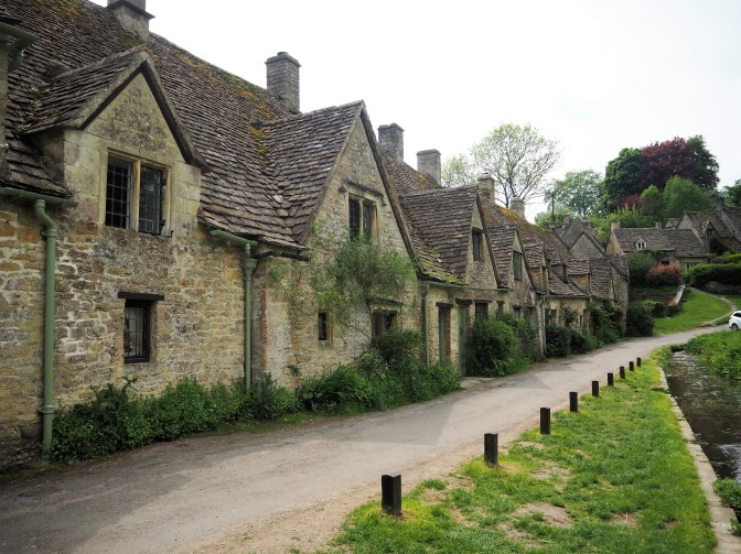 En route … to a small but charming ancient English village