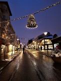 Christmas decorations in Reykjavik